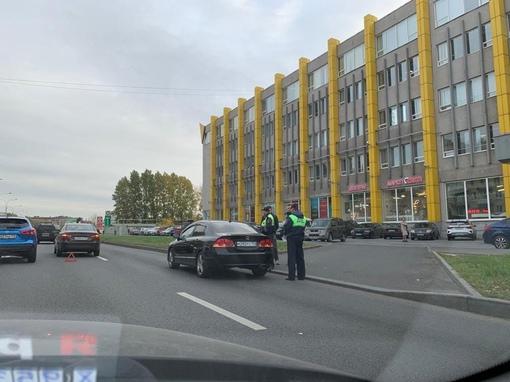 ДТП на Маршала Говорова сразу после Трефолева.