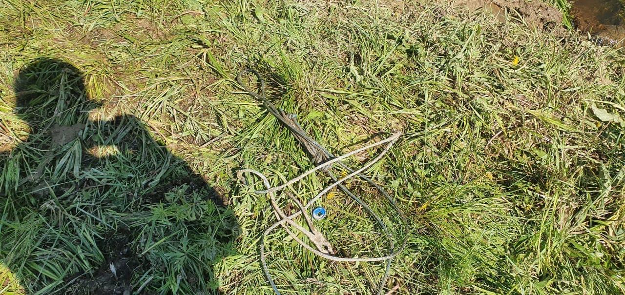 25 мая ночь с участка был украден квадроцикл Stels guepard 650 , на следующий день дорожные рабочие...