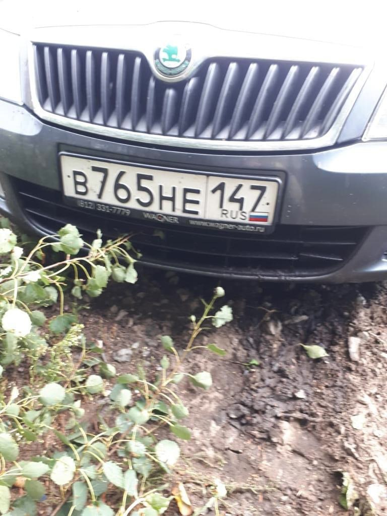 """16 июля на 37 километре автодороги """"Зуево - Новая Ладога"""", уходя от столкновения со встречным автомо..."""