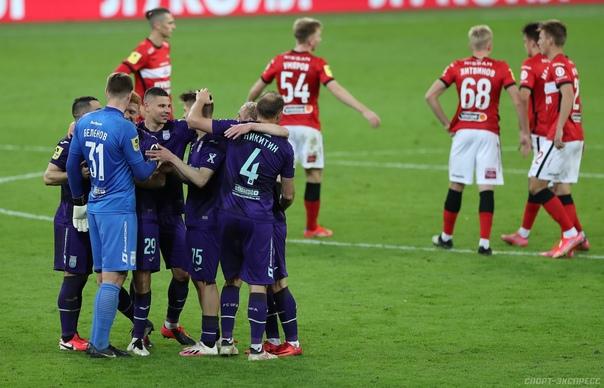 Спартак – Уфа 0:3