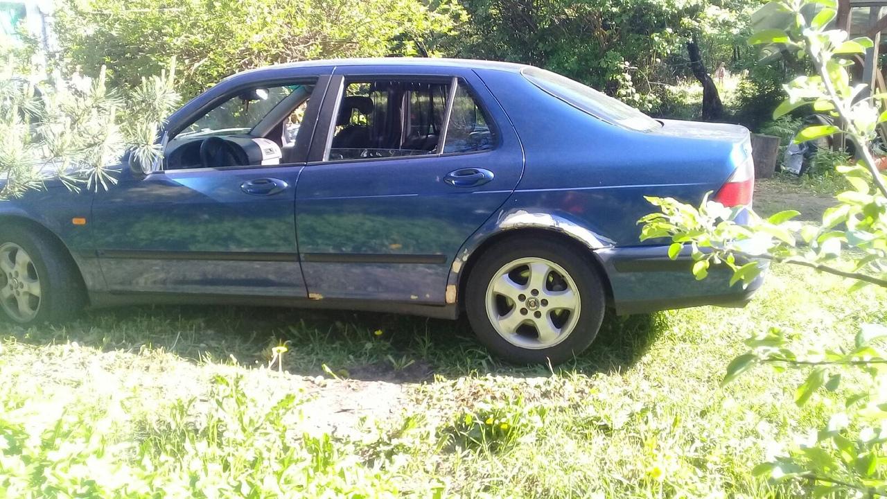 Ребят, помогите найти машину. 28-29 июня был угнан автомобиль Сааб 9-5, синего цвета. Угнана была от...