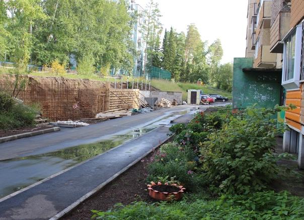 В Усть-Илимске продолжается благоустройство дворов