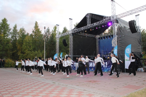 Городской праздник «На одной волне» состоялся в Усть-Илимске
