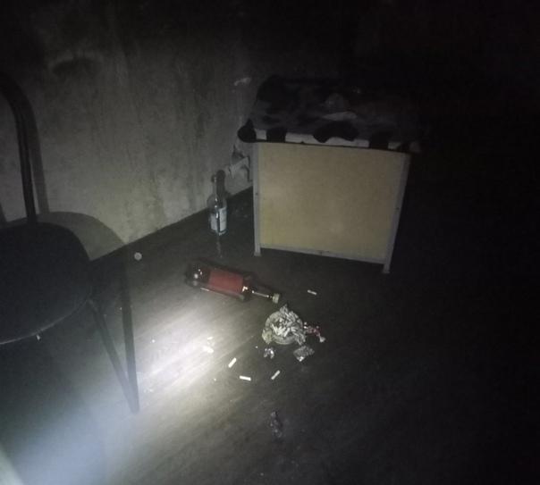 24.09.2021. Пожар в Усть-Илимске на улице Молодежной