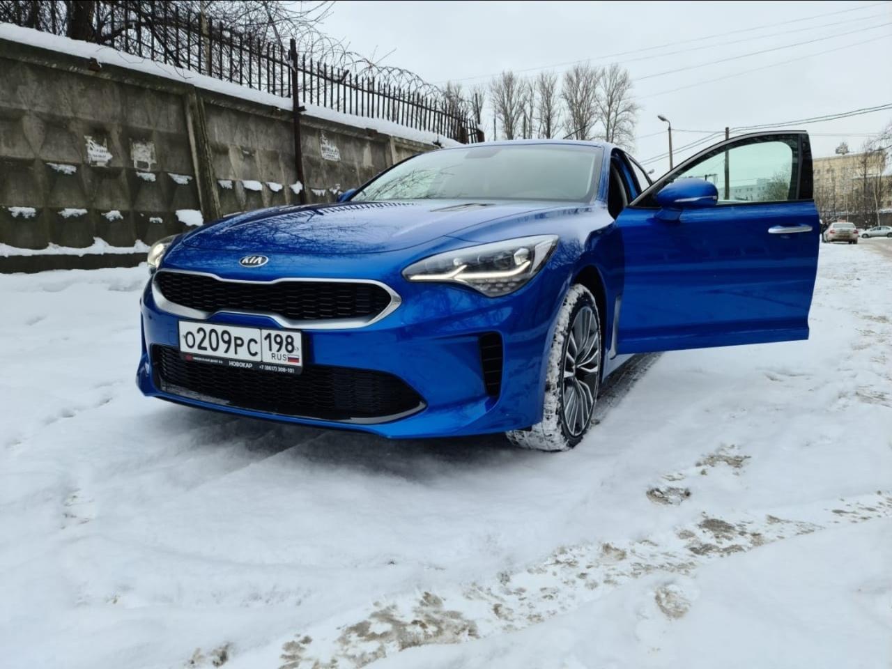 28 июня в Выборгском районе с Политехнической улицы от дома 6 был угнан автомобиль Kia Stinger синег...