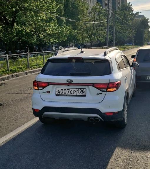 28 сентября в Приморском районе от дома 12 по Камышовой улице был угнан автомобиль Kia Rio X-line бе...