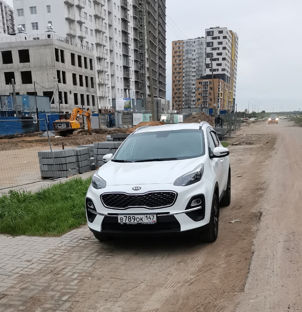 4 июля из города Мурино был угнан автомобиль KiA Sportage, белого цвета, 2021 года выпуска Госномер...