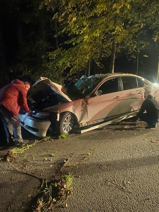 Вчера в 17:30 в поселке Сосново, Приозерского района, 42х летний Водитель BMW грз н814ео178 в САО н...