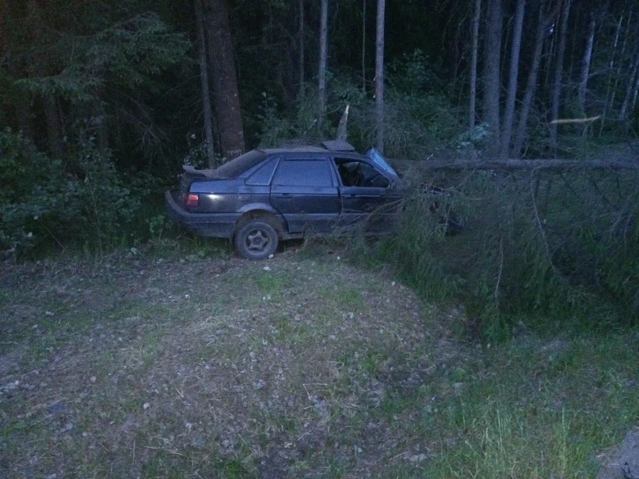 22 июня в 23:00 на автодороге Южное полукольцо, что в Ломоносовском районе, водитель автомобиля Фоль...