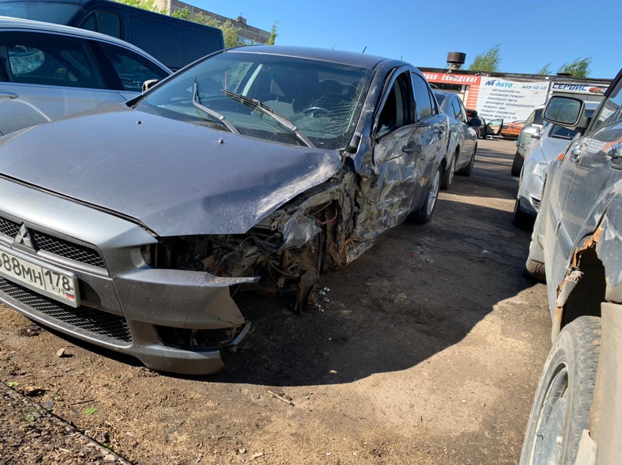 Ищу свидетелей аварии на 99 километре Приозерского шоссе 23 мая в 18-20 часов. Внедорожник Subaru п...