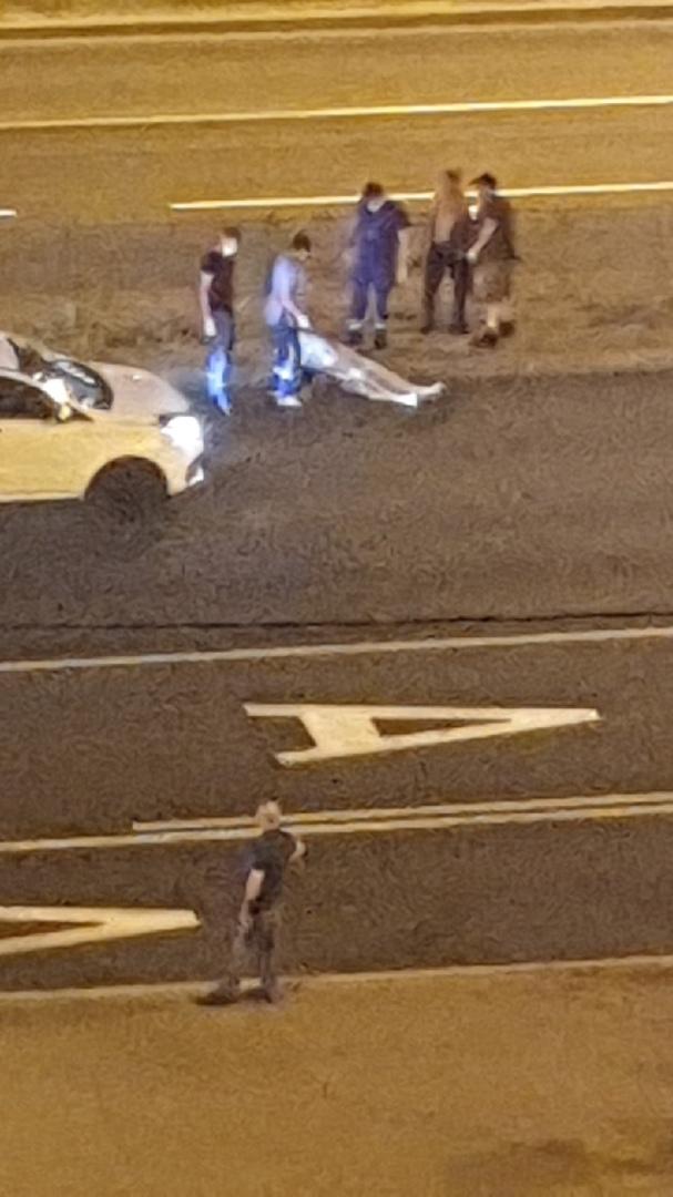 На Народной улице сбили человека..