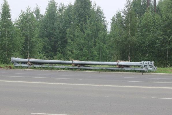 Работы по модернизации уличного освещения в Усть-Илимске