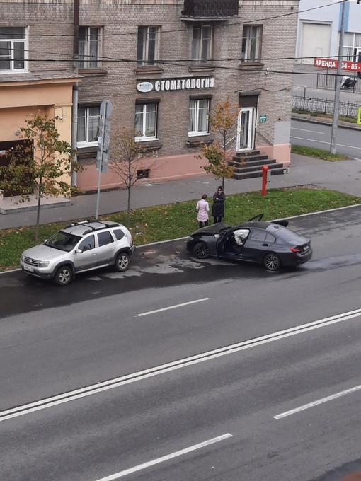 Авария на Зайцева с участием БМВ