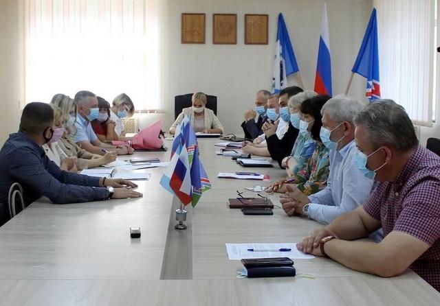 Планерное совещание Администрации Усть-Илимска от 19 июля 2021 года