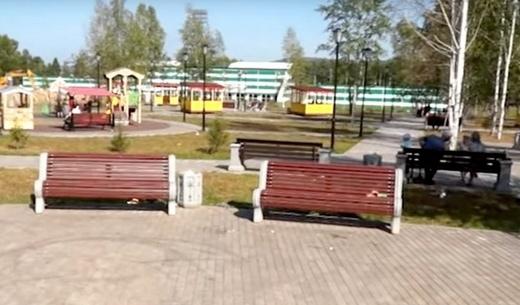 Сквер возле стадиона «Юбилейный»