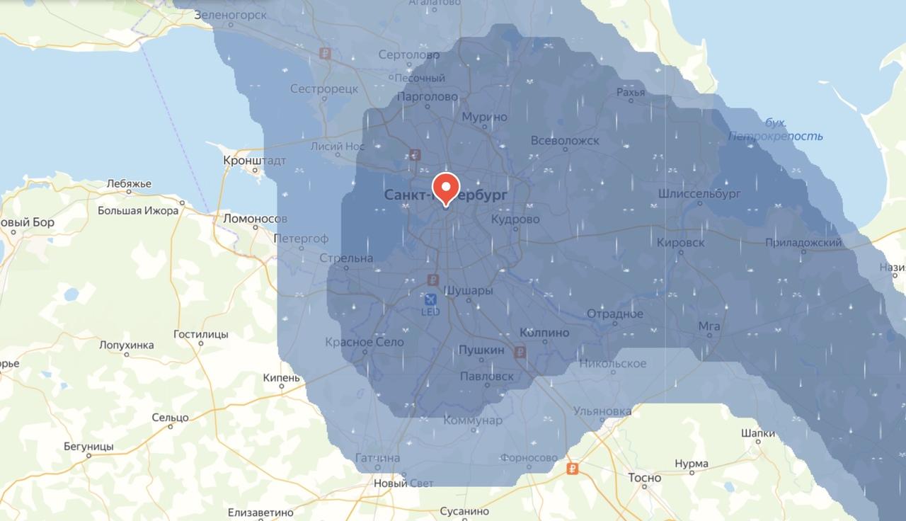 Над некоторыми районами Санкт-Петербурга прошел дождик и внес свежести в эти жаркие дни. На видео сн...