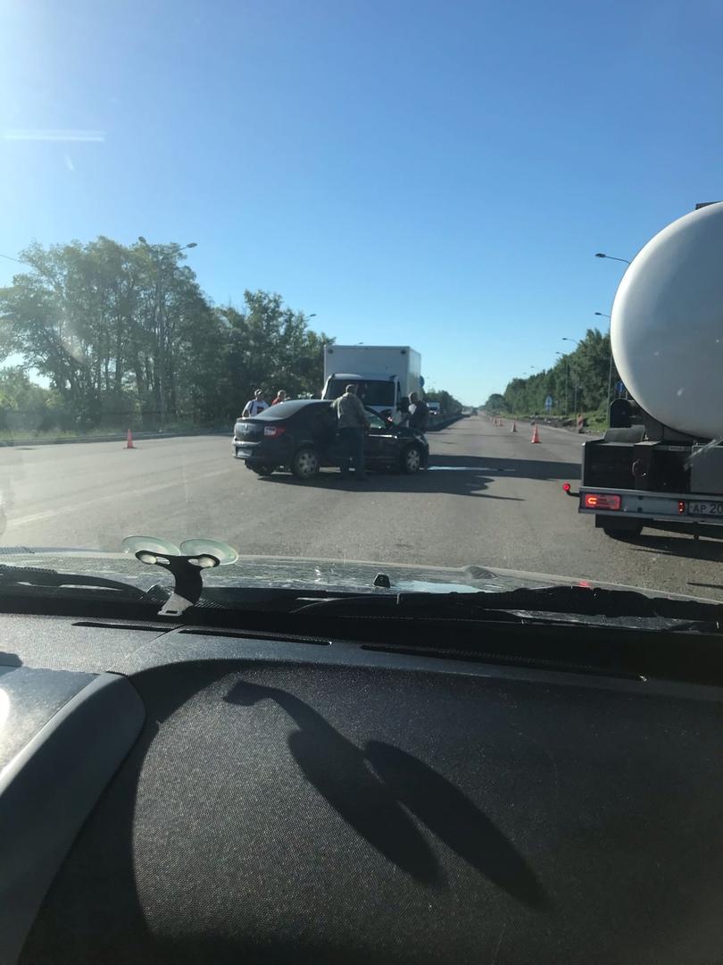 ДТП в посёлке Рябово на Московском шоссе.