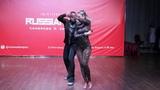 Carlos &amp Fernanda da Silva - zouk show at Russian Zouk Congress 2018