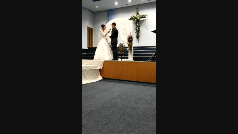 Венчание моих детей