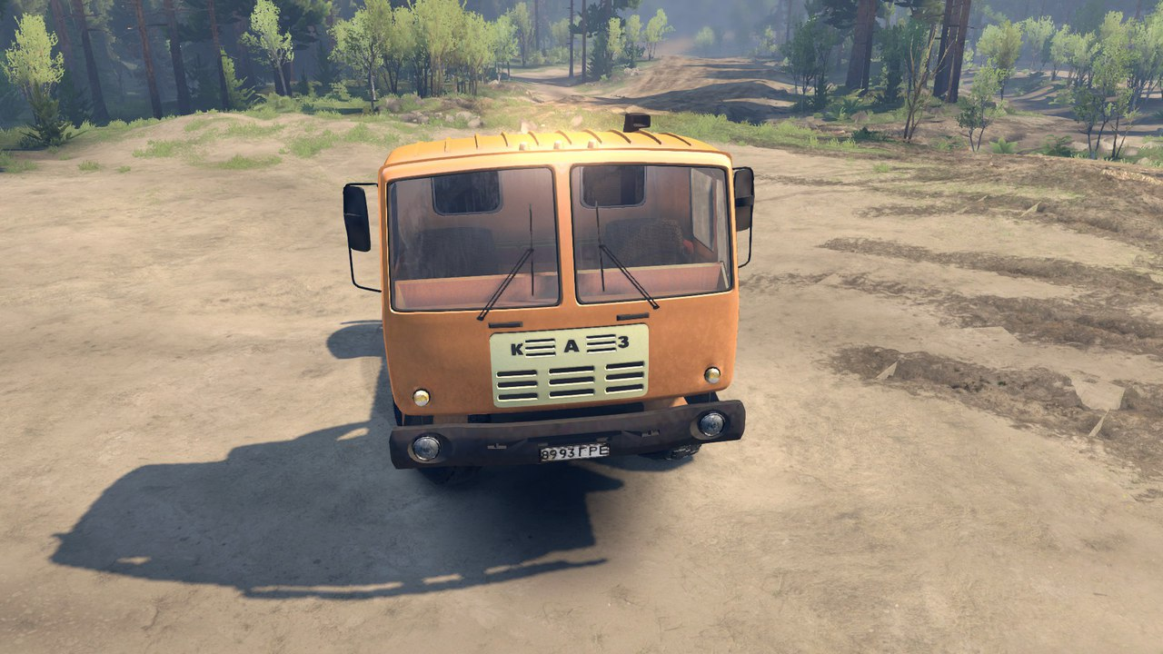 КАЗ-4540 для Spintires - Скриншот 1
