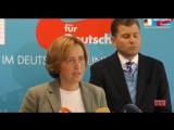 Beatrix von Storch - Pressekonferenz der AfD Fraktion zum Einwanderungsgesetz- -Merkel Murks-