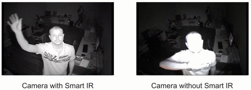 Камера с умным ИК имела