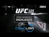UFC 225 Open Workout Recap