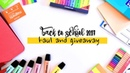 Back to School 2017 #10 // School Supplies Haul and Giveaway [CLOSED]!