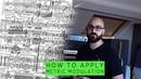 Adam Nolly Getgood How to apply metric modulation