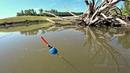 Рыбалка на утренней зорьке на поплавок. Ловля на маховую удочку.