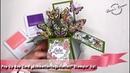 "Pop Up Box Card ""Schmetterlingsvielfalt Stampin' Up"
