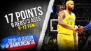 DeMarcus Cousins Full Highlights 2019.01.24 Warriors vs Wizards - 17 Pts, 3 Asts, 8-12 FGM!