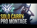 When Pros Solo Carry 3 - Overwatch Montage