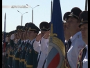 В Курск въезжает тяжелая военная техника