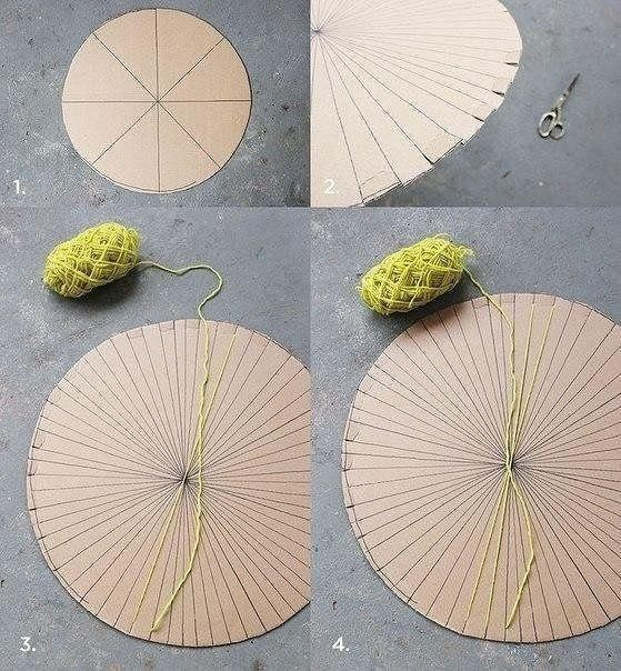 Плетём коврик