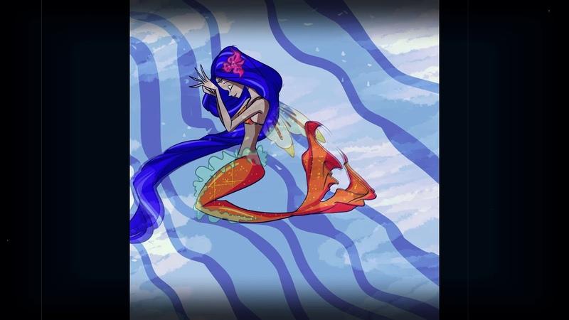 Testing physic Animation Winx Club Mermaid Kalia
