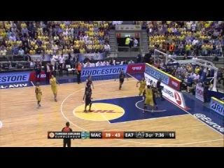 Full Game: Maccabi Electra Tel Aviv - Armani Milano 86:66