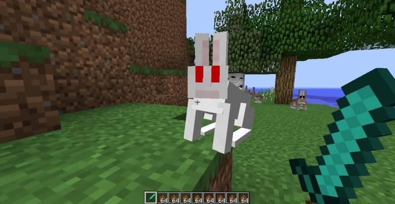 Быстрые лапки, пушистый хвостик: кролики в 1.8