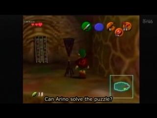 GameCenter CX#109 - The Legend Of Zelda Ocarina Of Time. Part 1 (engsub)