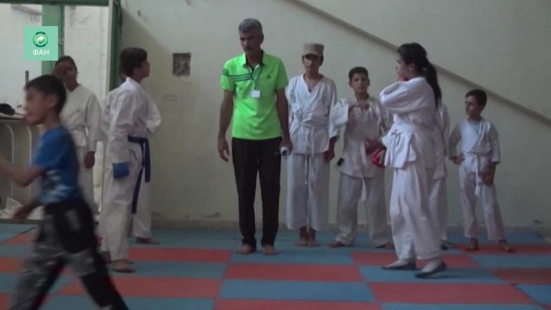 Сирия молодежная ассоциация провела спортивный фестиваль в Хасаке — видео ФАН