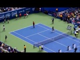 Serena Williams, Andy Murray, Victoria Azarenka, Jack Sock and Kimberly Yee at US Open Arthur Ashe K