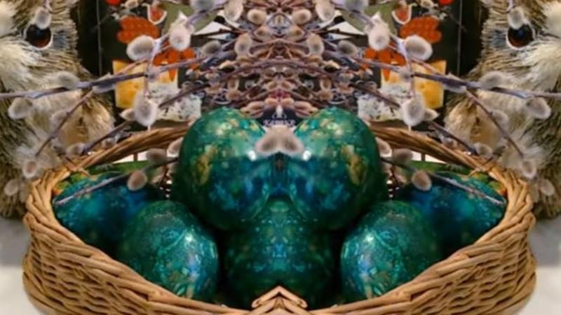 Мраморные яйца (без зелёнки) / Пасхальные Яйца / Пасха