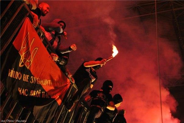 Федерація зняла всі заборони на червоно-чорний прапор