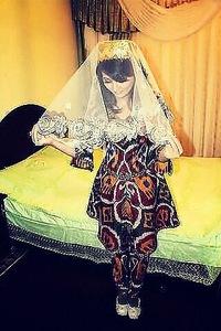 Национальные узбекские платья невест