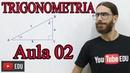 Trigonometria Razões Trigonométricas SENO COSSENO TANGENTE Minicurso Aula 02 Prof Rafa Jesus