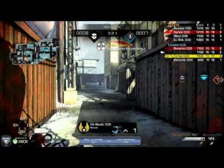 AllStars vs Vexx Revenge - Game 3 - Group B - CoD Championships 2014