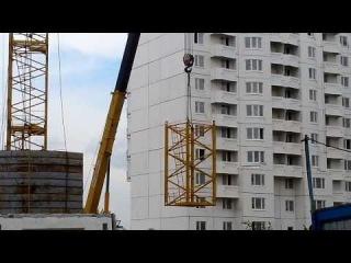 Монтаж башенного крана КБ-515. Часть-1.