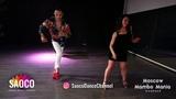 Charlie Garcia and Olesya Petrova Salsa Dancing at Moscow MamboMania weekend, Friday 26.10.2018