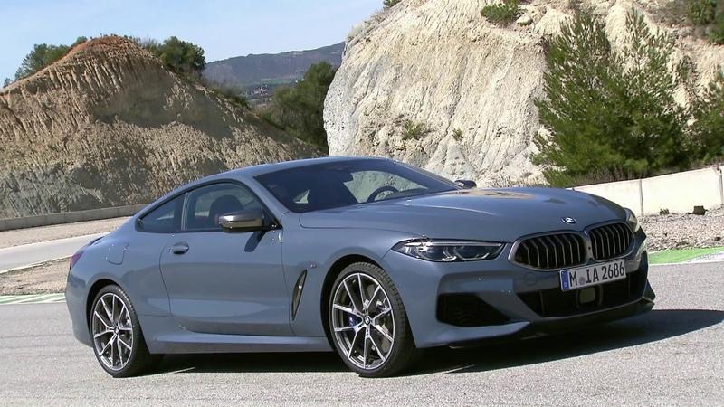 2019 BMW 8 Series - M850i exterior footage