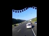 Дтп на трассе М 5 Сызрань.(1)